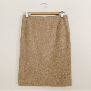 Theory Tweed Pencil Skirt